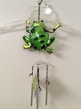 Garden Collection Frog Wind Chimes - NEW with TAG