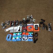 Cell Phone Accessories Motorola Nokia Blackberry Att iGo Lot Of 36 Mostly Nib