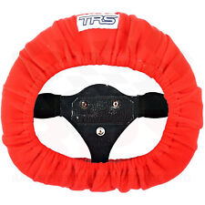 TRS Steering Wheel Cover RED - Race / Rally / Off Road / 4x4