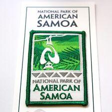 National Park of American Samoa Souvenir Patch Tutuila Ofu Ta'ū Pacific Ta'u