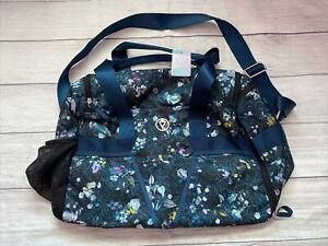 NWT Ivivva By Lululemon Mindful Magic Duffel Bag In AUFA Aurora Floral Multi