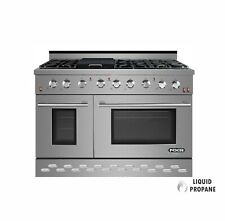 """Nxr Sc4811Lp 48"""" 7.2 cu.ft. Pro-Style Propane Gas Range with Convection Oven"""