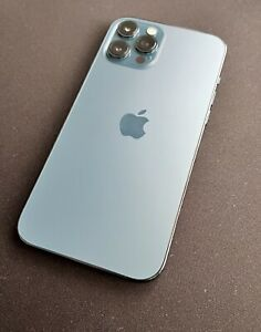 Apple iPhone 12 Pro Max - 256GB - Pacific Blue (Unlocked) Excellent Condition