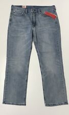Levi's 514 Straight Fit MOTION Jeans 38x30 NEW Performance stretch light Denim