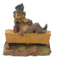 1986 TOM CLARK Hand Craft GNOME Figurine HOBO #1134 LE #63 CAIRN STUDIO