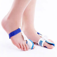 2Pcs Bunion Splint Hallux Valgus Corrector Big Toe Straightener Pain Reliever