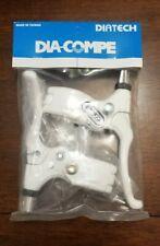 Dia Compe Tech 77 Brake Levers White Locking Brand New Pair Set BMX Freestyle GT