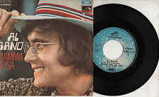 AL BANO raro disco 45 giri STAMPA ITALIANA  Mamma Rosa 1971