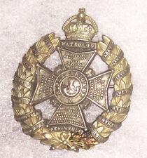 WWII Waterloo Pennisula Rifle Brigade Cap / Beret Badge