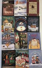 Tole Painting Book Lot of 12 Assorted Christmas Folk Art Books Pat Olson JoSonja