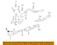 GM OEM Exhaust-Converter & Pipe Clamp 11611439