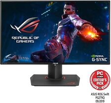 "ASUS ROG Swift PG279Q 27"" Gaming Monitor, 1440P WQHD (2560 x 1440), IPS, 165Hz."