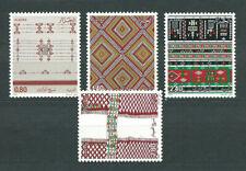 Algeria - Posta Yvert 854/7 MNH Tessuti