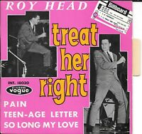 Trés Rare EP - Roy Head - Treat Her Right  - French Disques Vogue INT.18030 -