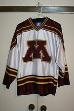 Starter 90's Minnesota Golden Gophers Sewn Hockey Jersey Hip Wcha Size M
