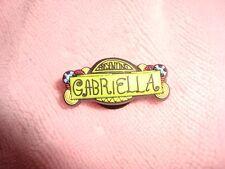 2007 Disney High School Musical Jibbitz Gabriella Shoe or Wristband Charm