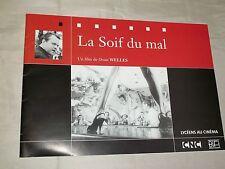 """DOSSIER DU FILM """"LA SOIF DU MAL (TOUCH OF EVIL - 1958)"""" ORSON WELLES (2001)"""