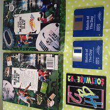 Rare collection vintage amiga jeu match de la journée ZEPPELIN premier boxed