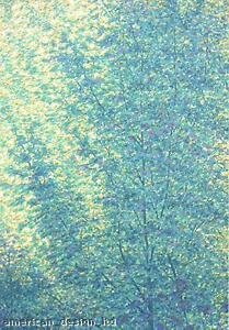 Scott Nellis SPRING TREES Original Hand Signed Serigraph Artwork, MAKE AN OFFER!