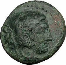 Alexander III the Great 336BC Ancient Greek Coin Hercules Bow Club i36292