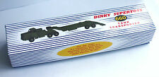 DINKY Reproduction Box 660 Thornycroft Mighty Antar Tank Transporter