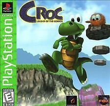 Croc: Legend of the Gobbos (Sony PlayStation 1, 1998) *Complete* PS1 Game