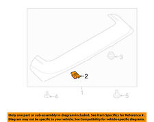 FORD OEM Quarter Panel-Wheel Fender Liner Nut W714205S307