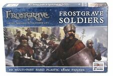 Frostgrave FGVP01 Soldiers (20 Plastic Figures) Warriors Archers Infantry NIB