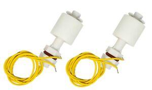 2 mini Schwimmschalter Trockenlaufschutz Wasserschalter Sensor 60x23mm f Arduino
