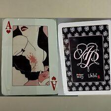 Erotisches Kartenspiel Poker Deck zur LifeBall unbespielt (43341)