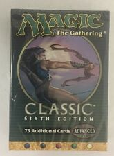 6th Edition Classic Sealed Tournament Starter Deck Mtg Magic Sixth English