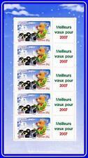FRANCE 2006 NEW YEAR m/s MNH PENGUINS, BIRDS nominale 4.75€ cv$12.00 light bent