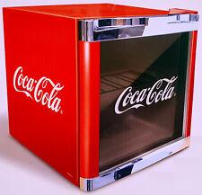 Husky Cubes Cool Cube Coca-Cola Getränkekühlschrank 48 L,Glastür-Minibar,EEK A+