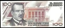 Mexico P-98 Banco de Mexico 100 N. Pesos A-A,31.7.1992 Au-Unc