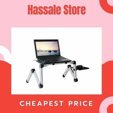 Aluminum Adjustable Laptop Desk Portable Ergonomic TV Bed Lapdesk Tray PC Table