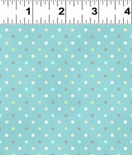 Guess How Much I Love You  Blue Polka Dots Fabric FQ + More 100% Cotton