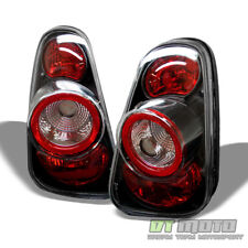 Black 2002-2006 Mini Cooper Tail Lights Rear Brake Lamps 02-06 Pair Left+Right