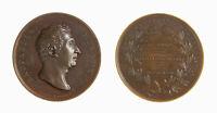 s1166_43) Medaglia Raffaello Morghen (1835) - INCISORE Op: Fabris Æ Ø mm 49