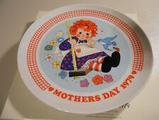 1979 Schmid Raggedy Ann Mother's Day Plate in Original Box!