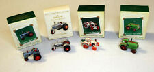 Hallmark Antique Tractors Miniature Collectors Series set of 4