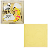 W7 Banana Dreamin' Pressed Powder - Face Makeup Foundation Soft Complexion