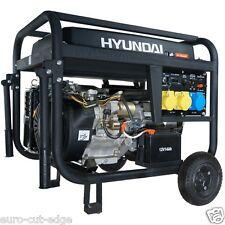 SILENT Hyundai HY7000LEk Electric Start Open Frame Petrol Generator
