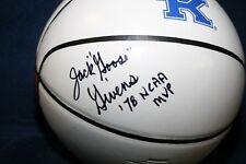 "JACK ""GOOSE"" GIVENS AUTOGRAPHED SIGNED NIKE UK LOGO BASKETBALL ""78 NCAA MVP"" COA"