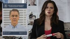 Conviction Hayley Atwell TV Show Prop Chicago Police Department Mugshot Harris