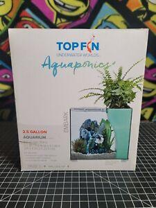 Top Fin EMBARK Aquaponics Aquarium 2.5 Gallon - Great for Betta Fish 🐟 🐟