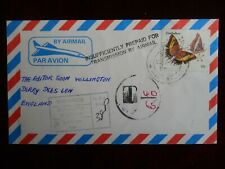 Zimbabwe Air Mail Cover Insufficiently PrePaid for Tramsmission by Air Mail 1972