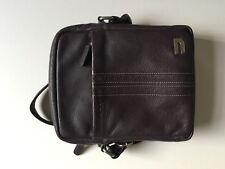 Urbano Purple Genuine Leather Crossbody Bag for iPad and iPad Pro RRP £149