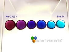 Molybdenum oxidation state transition glass bead Set - 6 beads