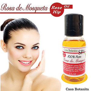 Rosa De Mosqueta Aceite  Rosehip Oil  100% puro Organico
