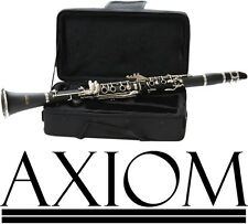 Axiom Student Clarinet Quality School Beginner Clarinet w/Case 2 Year Warranty